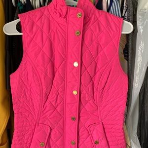 Lilly Pulitzer Reversible Puffy Vest